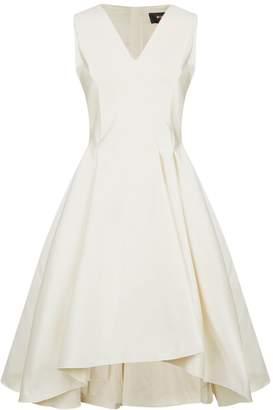 Paule Ka Structured Waist Dress