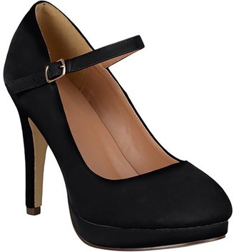 Co Brinley Women's Platform Mary Jane Pumps