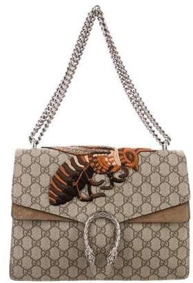 Gucci 2015 GG Supreme Medium Dionysus Bee Bag