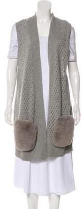 Magaschoni Cashmere Knit Vest