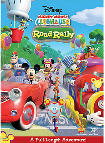 Disney Mickey Mouse Clubhouse: Road Rally DVD