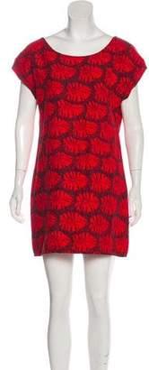 Jesse Kamm Printed Mini Dress