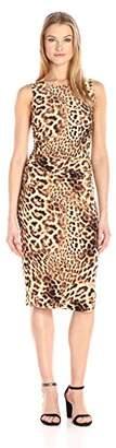 Norma Kamali Women's Sleeveless Shirred Waist Dress