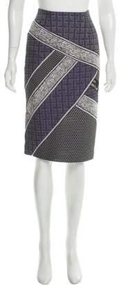 Jonathan Simkhai Textured Knee-Length Skirt w/ Tags