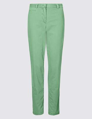 Marks and Spencer Pure Cotton Tapered Chinos