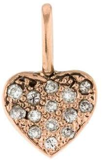 Charm 14K Diamond Heart