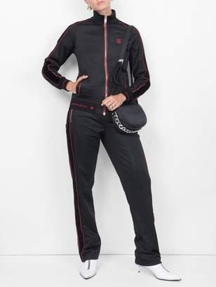 Givenchy Velvet side stripe joggers