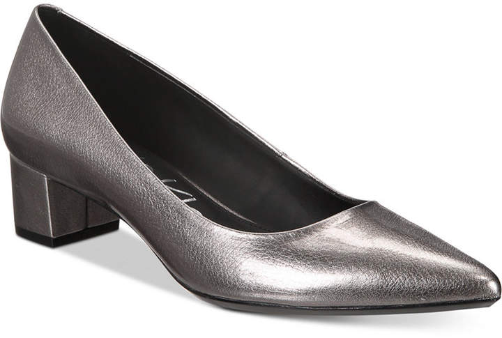 Calvin Klein Women's Genoveva Kitten-Heel Pumps Women's Shoes