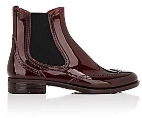 Barneys New York Women's Wingtip Rubber Rain Boots - Wine