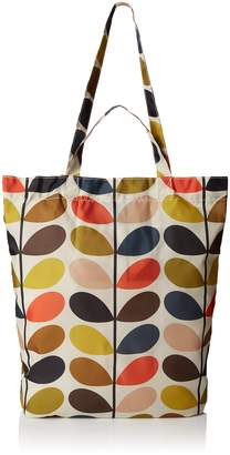 Orla Kiely ETC Classic Stem Packaway Shoulder Bag