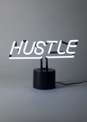 Co Amped & Hustle Neon Sign   Wildfang - Amped & Hustle Desk Neon - WHITE - OS