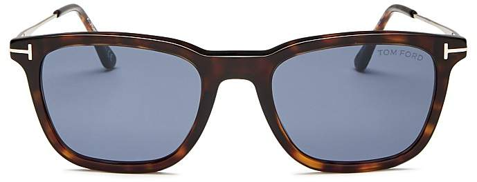 Tom Ford Men's Arnaud Combo Square Sunglasses, 53mm