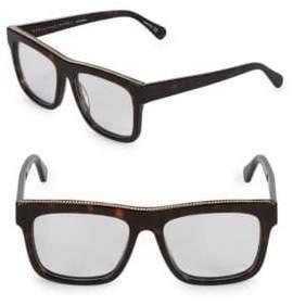 Stella McCartney 52MM Embellished Square Optical Glasses