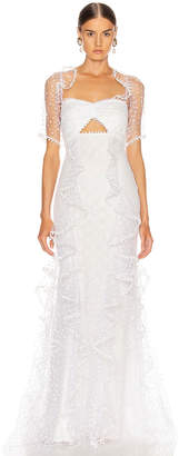 Alice McCall Found You Gown in Porcelain | FWRD