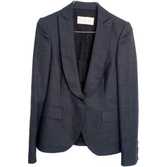Valentino Grey Wool Jacket for Women Vintage