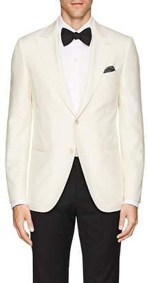 Caruso Men's Slub Silk Two-Button Sportcoat