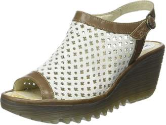 Fly London Womens YUTI734FLY Mule Leather Sandals 37 EU