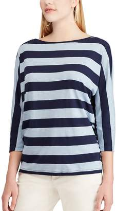 Chaps Petite Striped Dolman Top