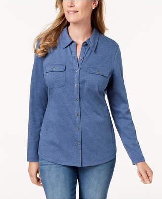 Karen Scott Long-Sleeve Shirt