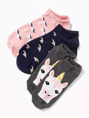 Old Navy Ankle Socks 3-Pack for Women