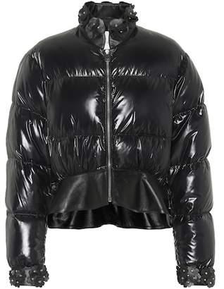 Noir Kei Ninomiya Moncler Genius 6 MONCLER Olivine down jacket