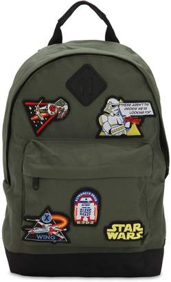 Star Wars Canvas Backpack W Patches