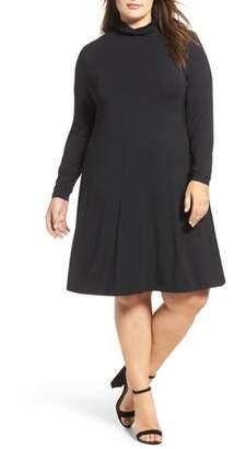 Tart Sally Turtleneck A-Line Dress