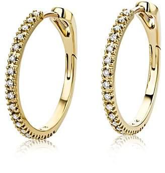 Miore Earrings Women Hoops Yellow Gold 18 Kt/750 qlEsh