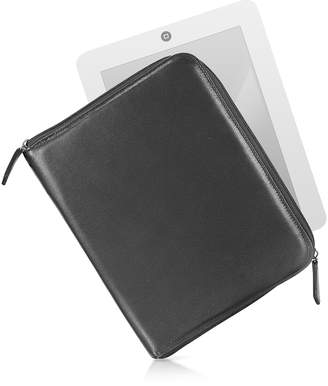Zippered Leather Tablet Case