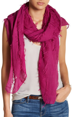LULLA COLLECTION BY BINDYA Frayed Wrap $37.50 thestylecure.com