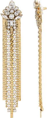 Erickson Beamon Khaleesi Fringe Earrings