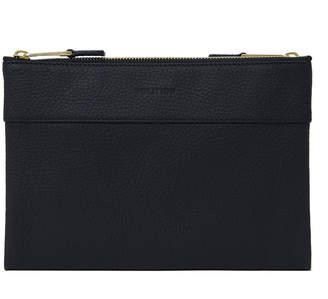 Volition Tony - Leather Men's Mini Bag Navy