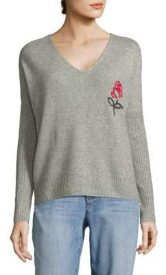 Wildfox Couture Cashmere Heart Sweater