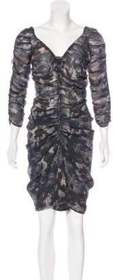Isabel Marant Printed Silk Dress