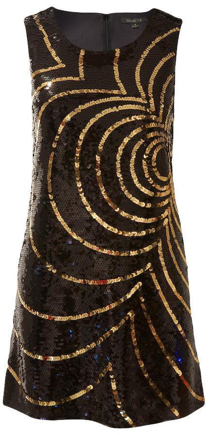 Rachel Zoe Peggy Sequin Flower Dress