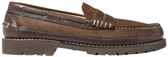 L.L. Bean L.L.Bean Men's Allagash Penny Loafers, Leather/Nubuck