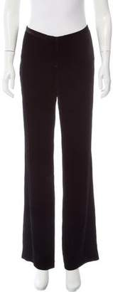 Magaschoni Velvet Wide-Leg Pants w/ Tags