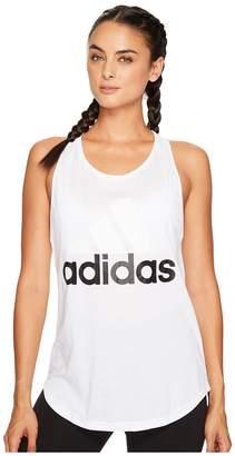 adidas Essentials Linear Loose Tank Top Women's Sleeveless