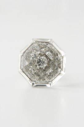 Anthropologie Crystal Octagon Knob