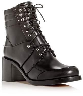 Tabitha Simmons Women's Leo Leather Block-Heel Booties