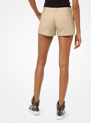 MICHAEL Michael Kors Stretch-Cotton Shorts