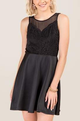 Zahari Special Occasion Dress - Black