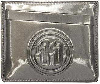Maison Margiela Grey Metallic Card Holder