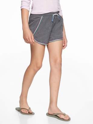 Athleta Girl Aloha Embroidered Short