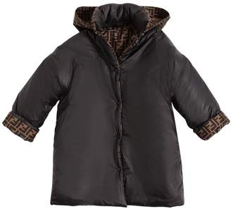 Fendi REVERSIBLE NYLON DOWN COAT