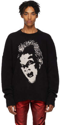 Amiri Black Lost Boys Crewneck Sweater