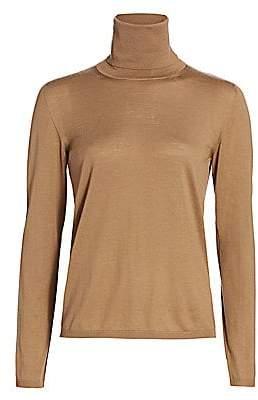 Max Mara Women's Virgin Wool Turtleneck Sweater