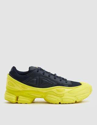 Raf Simons Adidas X RS Ozweego Sneaker in Bright Yellow/Night Navy