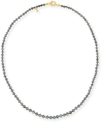 Black Diamond Splendid Company Faceted Round Necklace, 18""