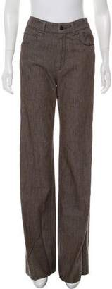 Prada Sport Wide-Leg Twill Pants w/ Tags